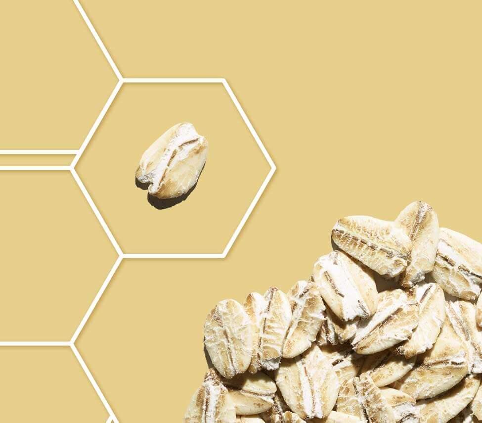 complexo triplo de aveia da aveeno contém aveia coloidal prebiótica